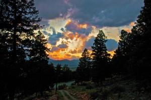 apts colorado: colorado sunset