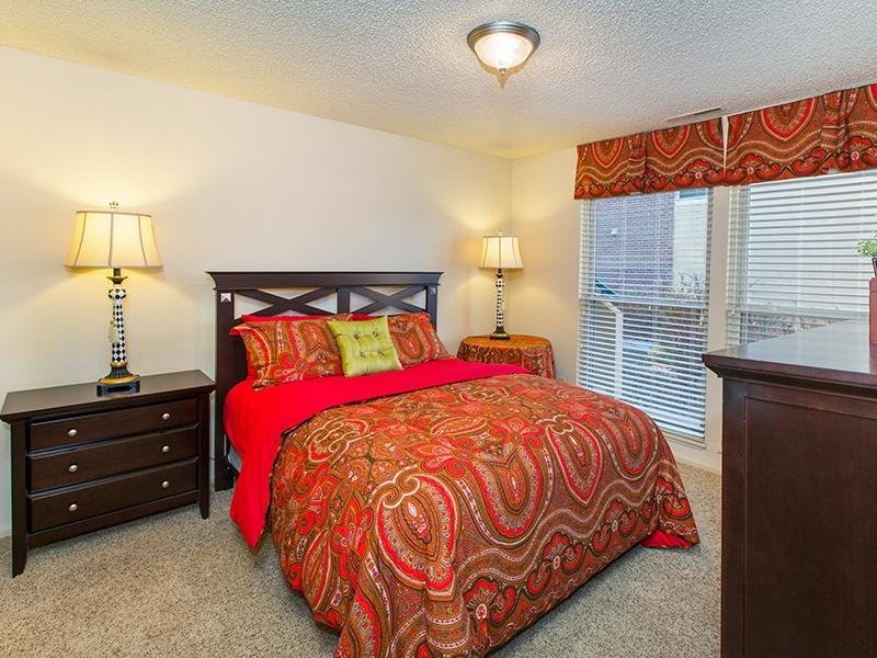 Bedroom | 25 Broadmoor Apartments in Colorado Springs, CO